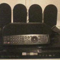 samsung surround sound system 5 speakers and remote Photo