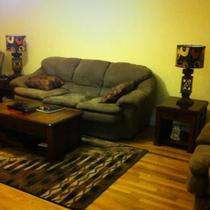 Set:sofa bed, love seat and recliner Photo