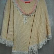 Shale Pink Ladies Misses Vintage Knit Handmade Shawl Ooak Photo