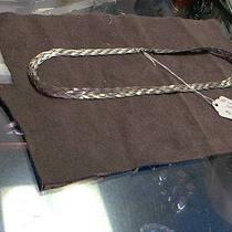 Silver .925 Silver Braided Necklace 65.00 Photo