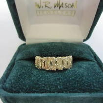 Size 10 Mens Wedding Ring/new Photo