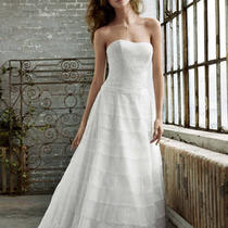 Size 14 Wedding Dress Nwt Never Worn Photo