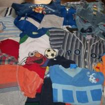 SIZE 2T_24 MONTHS BOY'S CLOTHING LOT_38 ITEMS IN ALL  Photo