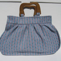 Slate Blue/gold Spring Handbag Photo