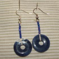 Sodalite Earrings Photo