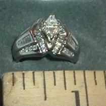 Solid 950 Platinum & 1.68ct.Diamond Ring Photo