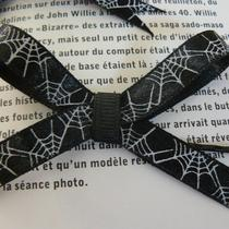 Spiderweb Ribbon Hairbows (Pair) Photo