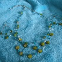 Spring Swing Necklace and Earring Set Photo