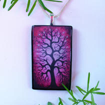 Spring Wearable Original Art Pendant Photo