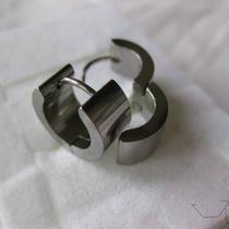 Stainless Steel Hoop Earrings Photo