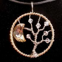 Starry Night Tree of Life Pendant Photo