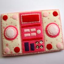 Stereo Hi-Fi Iphone Case Pink Pink Stars Version Photo
