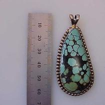 Sterling Silver and Turquoise Pendant Photo