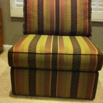 Striped Side Chair from Pier One Imports Photo