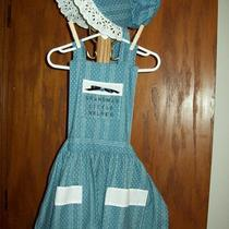 Sun Bonnet and Matching Apron Photo