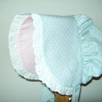 Sun Bonnet With Matching Apron Photo