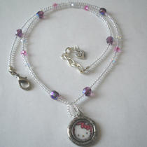Swarovski Crystal Hello Kitty - Necklace Photo