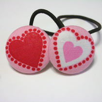Sweethearts.........2 Ponytail Holders Photo