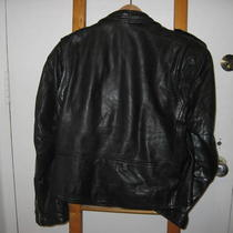 Sz 42 Black Motorcycle Jacket Photo