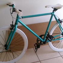 Teal Retrospec Fixie Photo