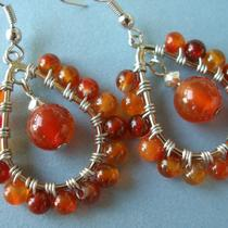 Tears of Fire Earrings Photo