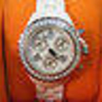 Techno by Jpm Ladies Diamond Chronograph Watch With Ceramic Watchband  Photo