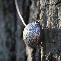 Textured Round Pendant Photo