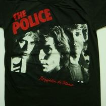 The Police &quotreggatta De blanc&quotstring Retro T-Shirt Women Size S Photo