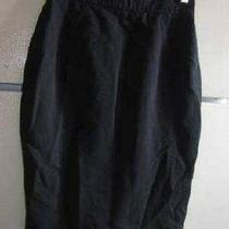 Thierry Mugler Paris France Classic Black Skirt Size 40  Photo