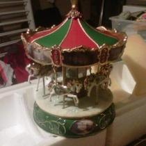 thomas kinkade victorian carousel Photo