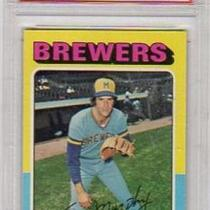 TOM MURPHY MILWAUKEE BREWERS 1975 TOPPS #28 PSA GRADED EX 5 Photo