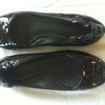 Tory Burch Black Patent Ballet Flats  (Size 7 1/2) Photo