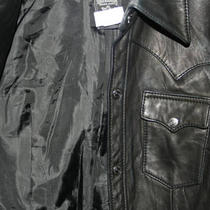 True Religion Ladies Leather Jacket-Great Condition Photo
