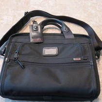 Tumi Alpha Briefcase With T-Pass (Fits 13&amp034 Laptops) Photo