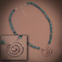 Turquoise & Silver Necklace Photo