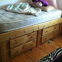 Twin bed  Photo