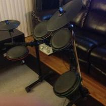 Ultimate Rock Band Setup For Xbox 360 Photo