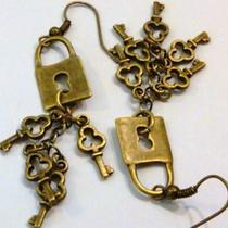Under Lock and Key Earrings (Free Shipping) Photo