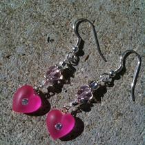 Valentine Earrings Photo