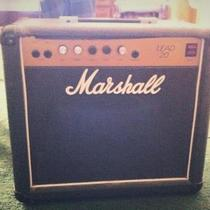 Vintage 80's Marshall Lead 20 amp Photo