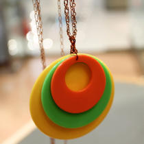 Vintage a-Go-Go Colorful Necklace Photo