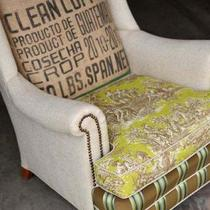 Vintage accent lounge chair - &quot;Export Cafe&quot; Chair Photo