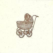 Vintage Baby Carriage Photo