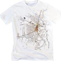 Vintage Cartographic Map Graphic Intricate Cool Design T-Shirt (Smlxlxxl Unisex Available) Photo