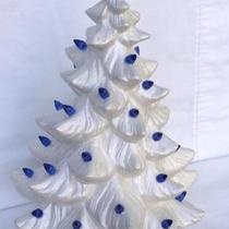 Vintage Ceramic Lighted Christmas Tree Photo