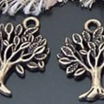 Vintage Charm/pendant Tree 10pc-20710 Photo