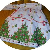 Vintage Christmas Apron Photo