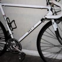Vintage Concord white bike Photo