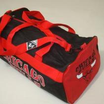 Vintage NASCO Chicago Bulls Duffle Bag  Photo