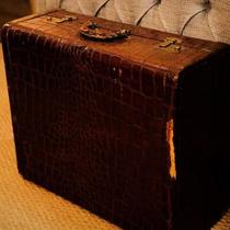 Vintage suitcase Photo